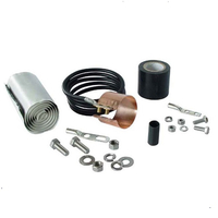 Copper Strap Type Grounding Kit for Telecom Coaxial Cable