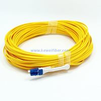 LC-LC patch cord with push-pull tab