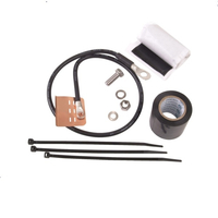 Standard Grounding Kit for 1/4 in and 3/8 in corrugated & braided coaxial cable