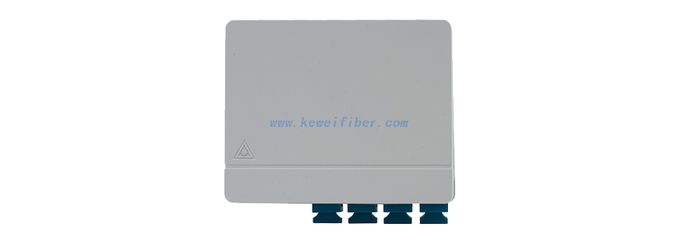 FTTH Customer Outlet 4cores