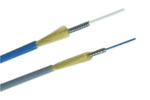 Simplex armored cable
