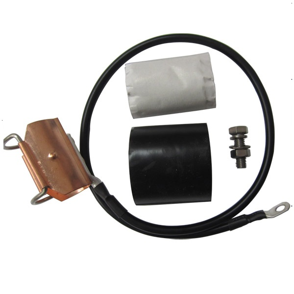 "Clip-on Grounding Kit for 1-1/4"" Coaxial Cable"