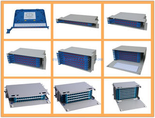 Optic Distribution Frame Fiber Optic Distribution Box , 12port Rak Mounted ODF Unit Box