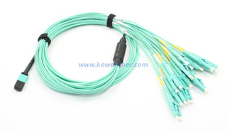 8/12/24cores MTP-LC/SC/FC/ST Staggered harness Cables assemblies