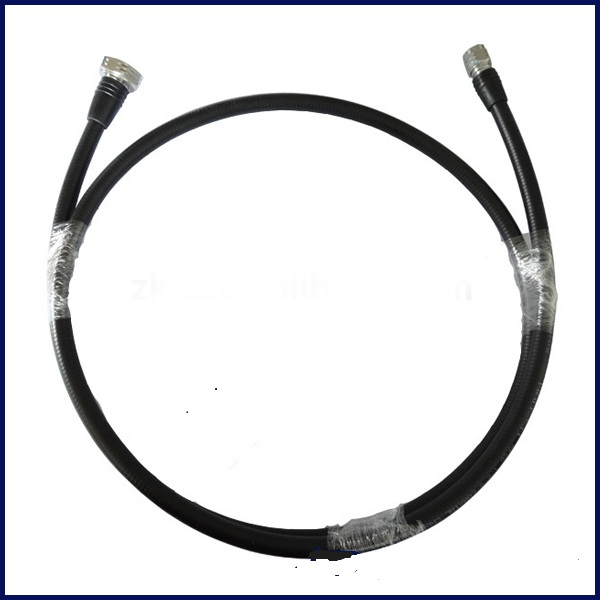 "1/2"" superflex jumper cable with 4.3-10 Male connectors on both sides Click Click 1/2"" superflex jumper cable with 4.3-10 Male connectors on both sides"