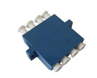 LC Quad Fiber Optical Adapter