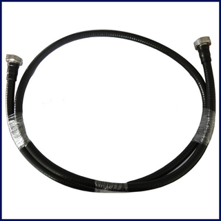 1/2 Superflex jumper cable with DIN Male connectors on both sides